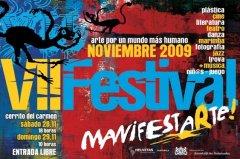 Afiche de Festival GuateArte