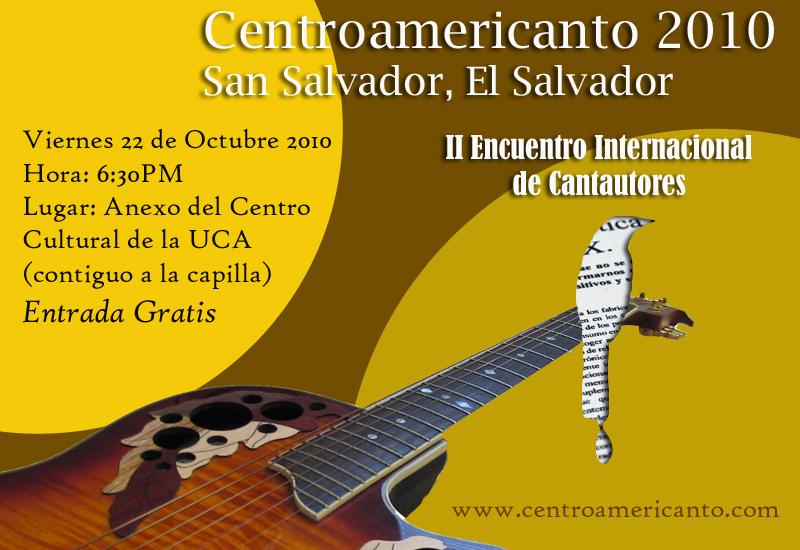 2o Encuentro Internacional de Cantautores